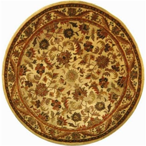 area rugs 8 x 8 safavieh antiquity gold 8 ft x 8 ft area rug at52d 8r the home depot