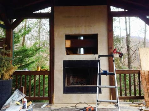 tips for updating an outdoor fireplace hgtv