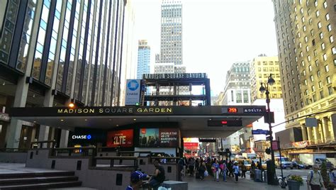 madison square garden madison square garden outdoor screen being repaired or