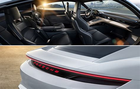 porsche electric interior porsche mission e concept electric supercar jebiga