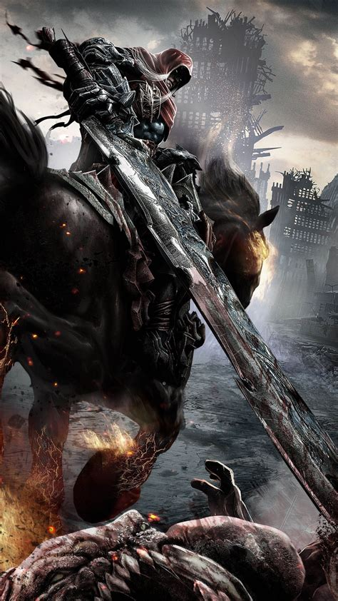 wallpaper darksiders   games  game hack