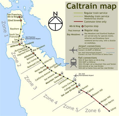 san jose caltrain map file wfm caltrain png wikimedia commons