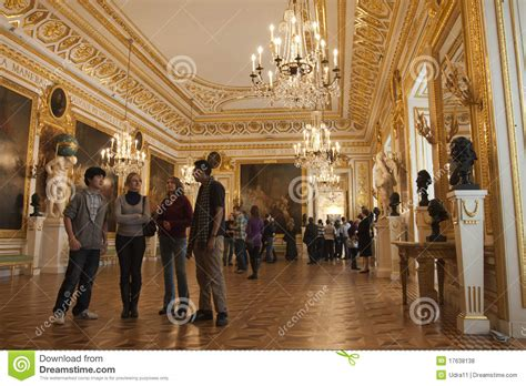 home inside design warszawa royal palace in warsaw inside editorial stock photo