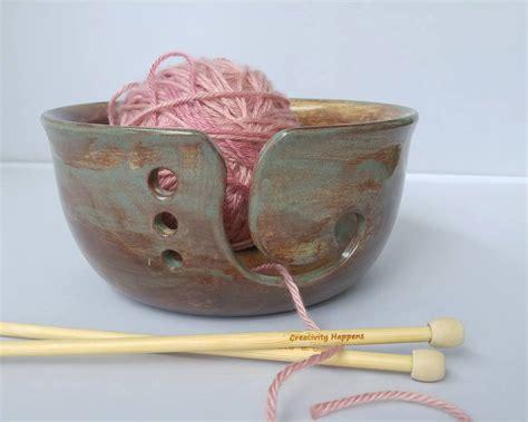 knitting bowl creativityhappens yarn bowls monkey shop