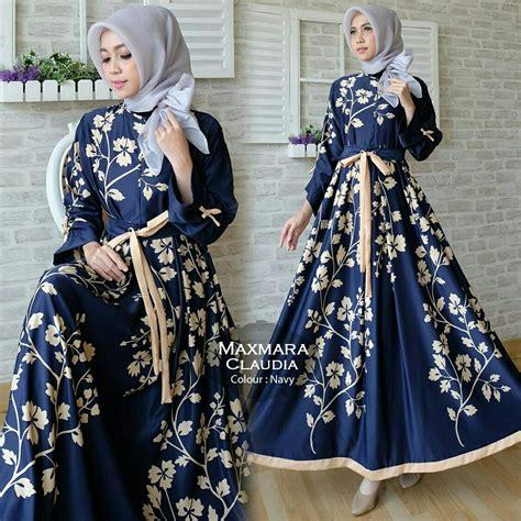 Gamis Dress Maxmara Motif Zeea gamis modern maxi maxmara baju muslim cantik