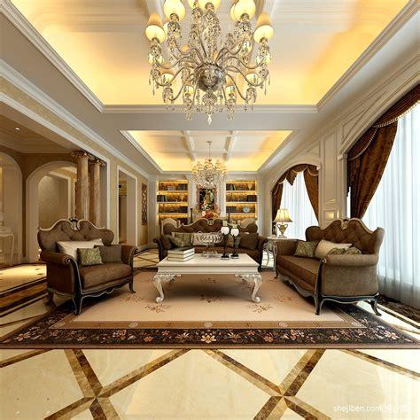Living Room Lighting Ideas Ireland 欧式客厅吊顶灯装饰设计 土巴兔装修效果图