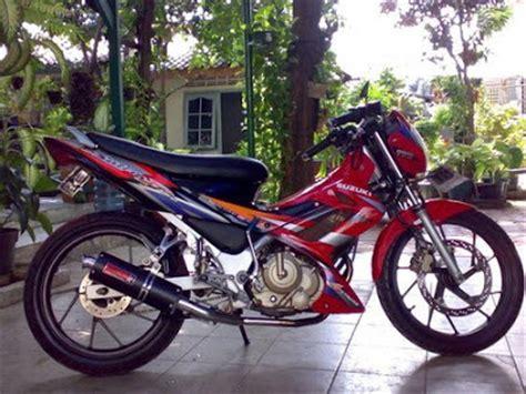 Knalpot Satria Fu 150cc motor kit cars modifikasi satria fu 150cc