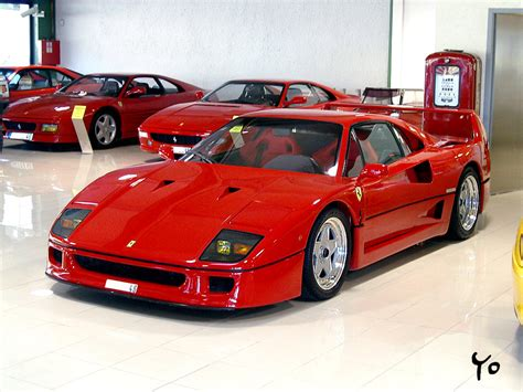 Ferrari F 40 by Ferrari F40 Photo Gallery Videos