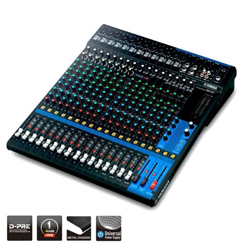Mixer Yamaha 20 Xu mg series overview mixers professional audio