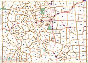 colorado unit map state map colorado hunt units