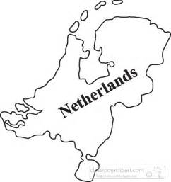 netherlands map outline country maps clipart netherlands outline map clipart