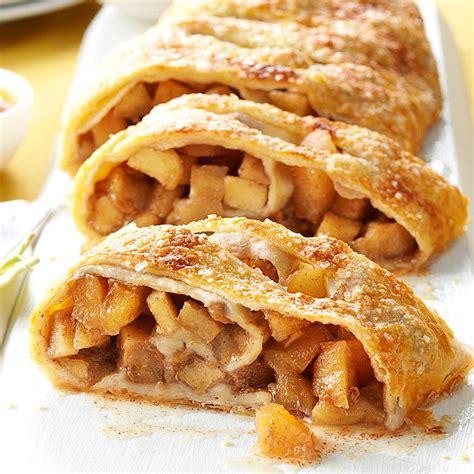 Apple Strudel | caramel apple strudel recipe taste of home