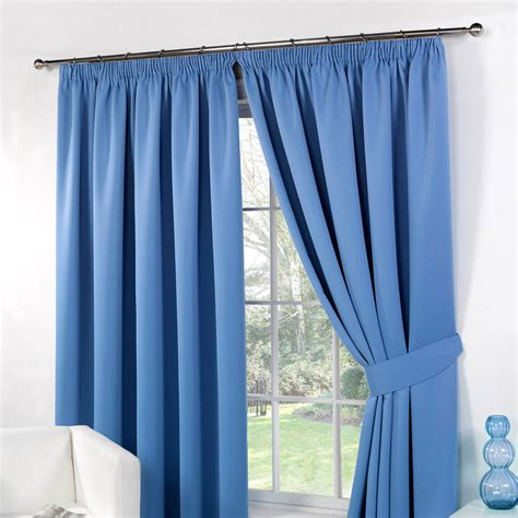 lined bedroom curtains ready made thermal pencil pleat blackout pair curtains ready made