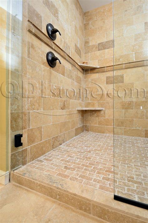 travertine tile bathroom shower tumbled stone tile bathroom the largest direct