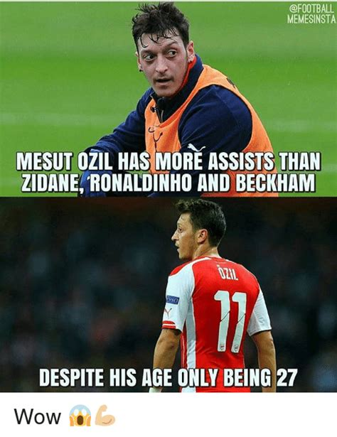Ozil Meme - funny soccer and wow memes of 2016 on sizzle