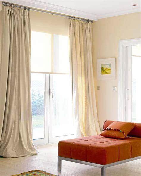 casa cortina combinar cortinas y estores bohochicstylebohochicstyle