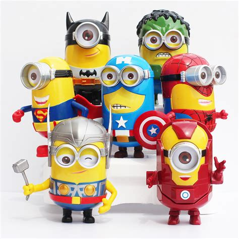captain america minion wallpaper buy 15cm despicable minions figure cos iron man batman