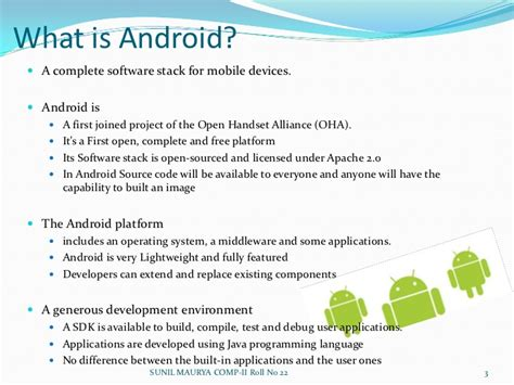 what is an android android operating system