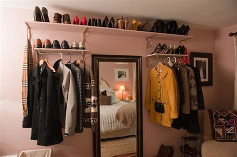 Makeshift Closets by 25 Best Ideas About Makeshift Closet On