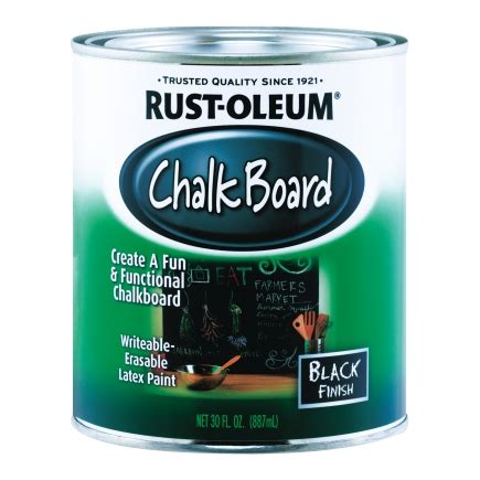 chalk paint colors ace hardware rust oleum interior chalkboard paint black flat 30