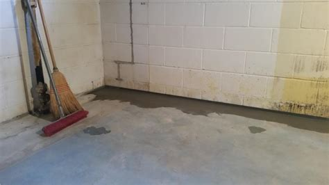american basement waterproofing american waterworks basement waterproofing before and after photos