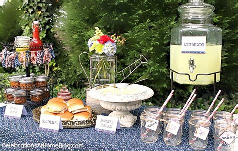 backyard bbq party menu backyard bbq party free printables celebrations at home