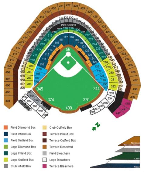 miller park seating map miller park seating chart information