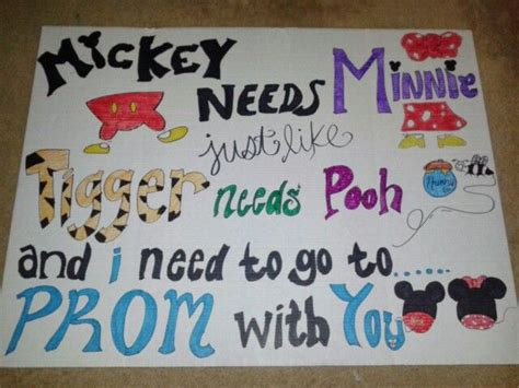 cute themes for dances ways to ask a guy to prom disney style by elise arias