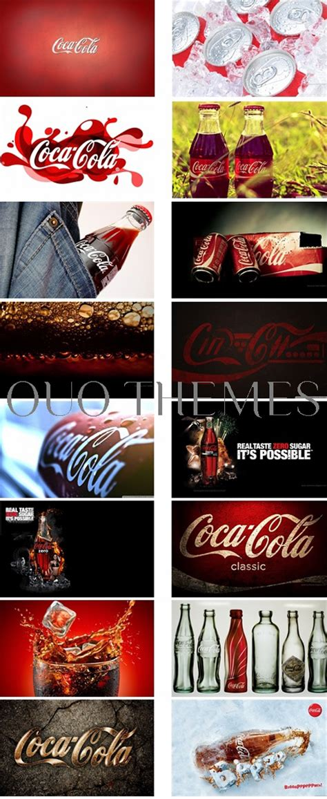 theme line coca cola coca cola theme for windows 7 and 8 ouo themes
