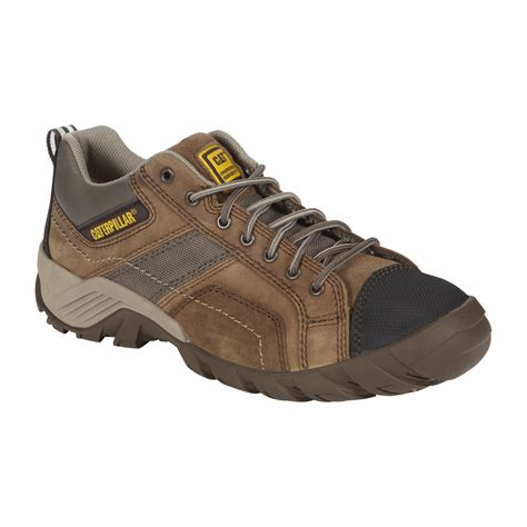 Caterpillar Shell Oxford Brown Safety Boot nautilus safety footwear s 1700 composite toe