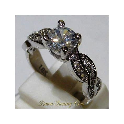 Cincin Xuping Mt Size 18 jual cincin wanita white gold filled 18k size 6us ukuran 12