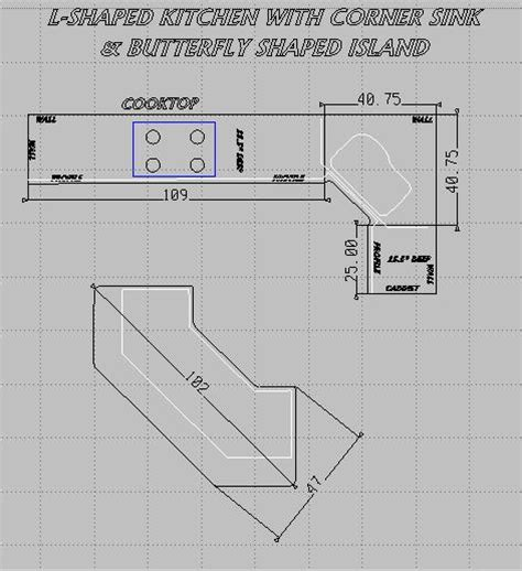 Calculating Countertop Square Footage by How To Calculate The Square Footage For Kitchen Countertops Estimate