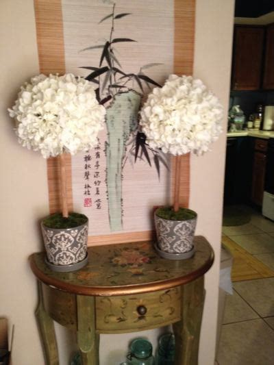 diy topiaries foray into faux flowers diy topiaries weddingbee