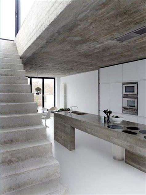 2014 modern minimalist kitchen interior design raw industrial kitchen in ultra modern minimalist house
