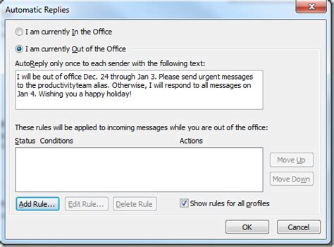 professional out of office message template best photos of formal out of office reply out of office