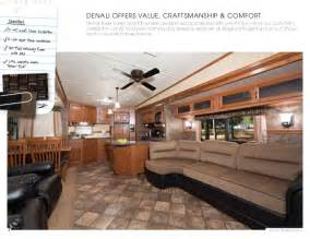 Sectional Bed Couch 2012 Dutchmen Denali Travel Trailer Fifth Wheel