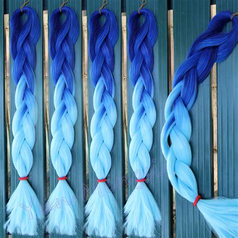 buy blue kanekolin hair popular blue kanekalon hair buy cheap blue kanekalon hair