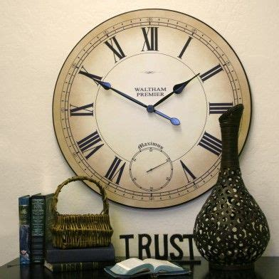 best large wall clocks 78 best large wall clocks 24 quot to 60 quot images on pinterest