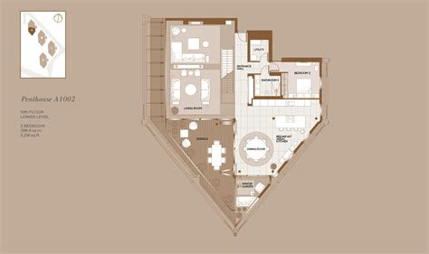 1 Bedroom Floor Plans neo bankside