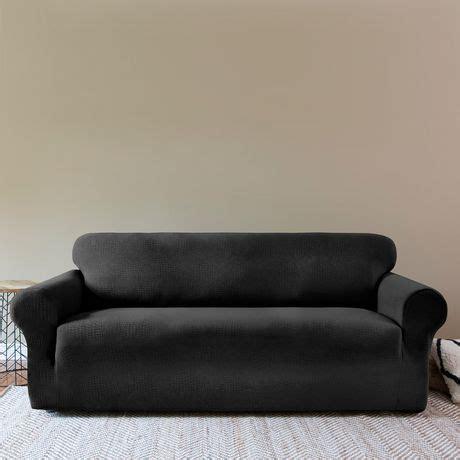 sofa covers sydney surefit sydney one piece stretch sofa slipcover walmart