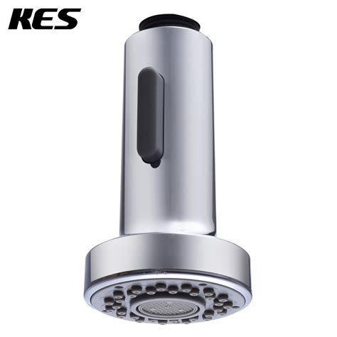 kitchen faucet replacement head aliexpress com buy kes pfs1 bathroom kitchen faucet pull