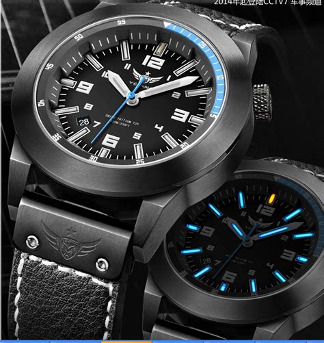 2015 sports watches glow tritium light h3