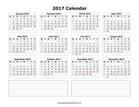 Desk Diary Planner Yearly Calendar 2017 Excel Yearly Calendar Printable