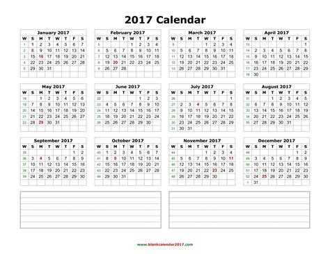 printable calendar 2017 download blank calendar 2017