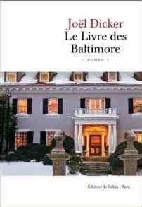 le livre des baltimore 2877069737 un monde de polars vendredilecture