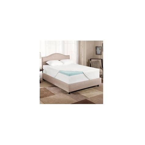 Novaform 3 Mattress Topper by Novaform Gel Memory Foam 3 Inch Mattress Topper Size
