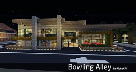 bowling alley schematic minecraft project