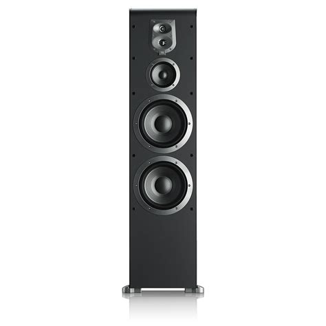 Speaker Power Up S08 jbl es90bk 4 way dual 8 inch floorstanding speaker black home audio theater