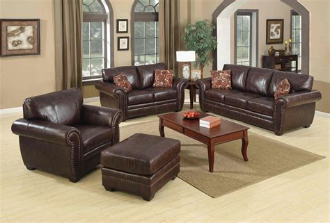 Casual Leather Sofa Set For Living Room Designs Ideas Leather Sofa For Living Room