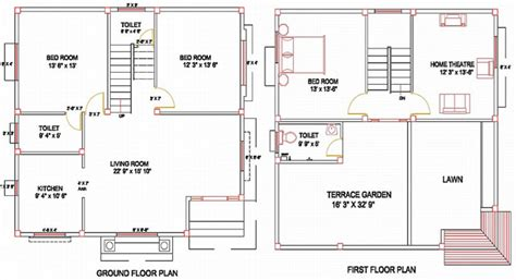 layout column column layout for a residence ground floor plan first